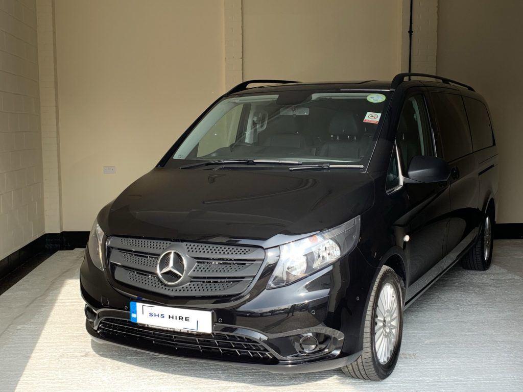 Lexus Hybrid Suv >> Hire a Mercedes Vito Tourer | 9 Seater PCO Hire | SHS Hire