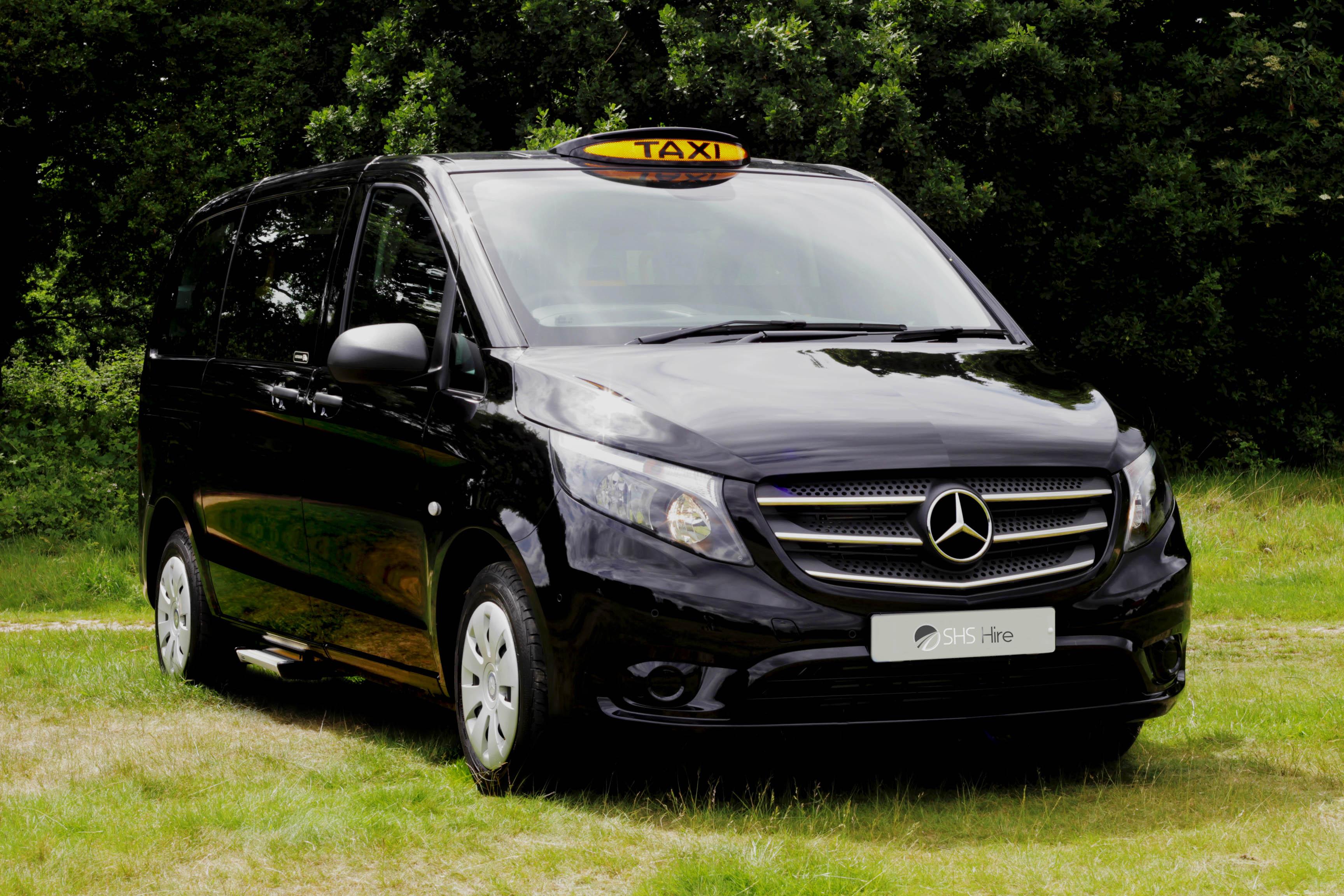 mercedes vito taxi shs hire. Black Bedroom Furniture Sets. Home Design Ideas