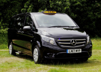 mercedes-taxi-black-side